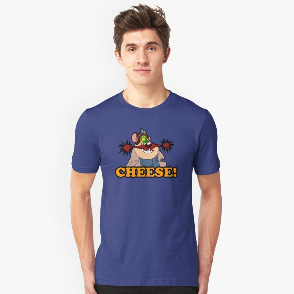 Monterey Jack Cheese Attack! Unisex T-Shirt Front