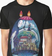 Miyazaki Totoro  Graphic T-Shirt