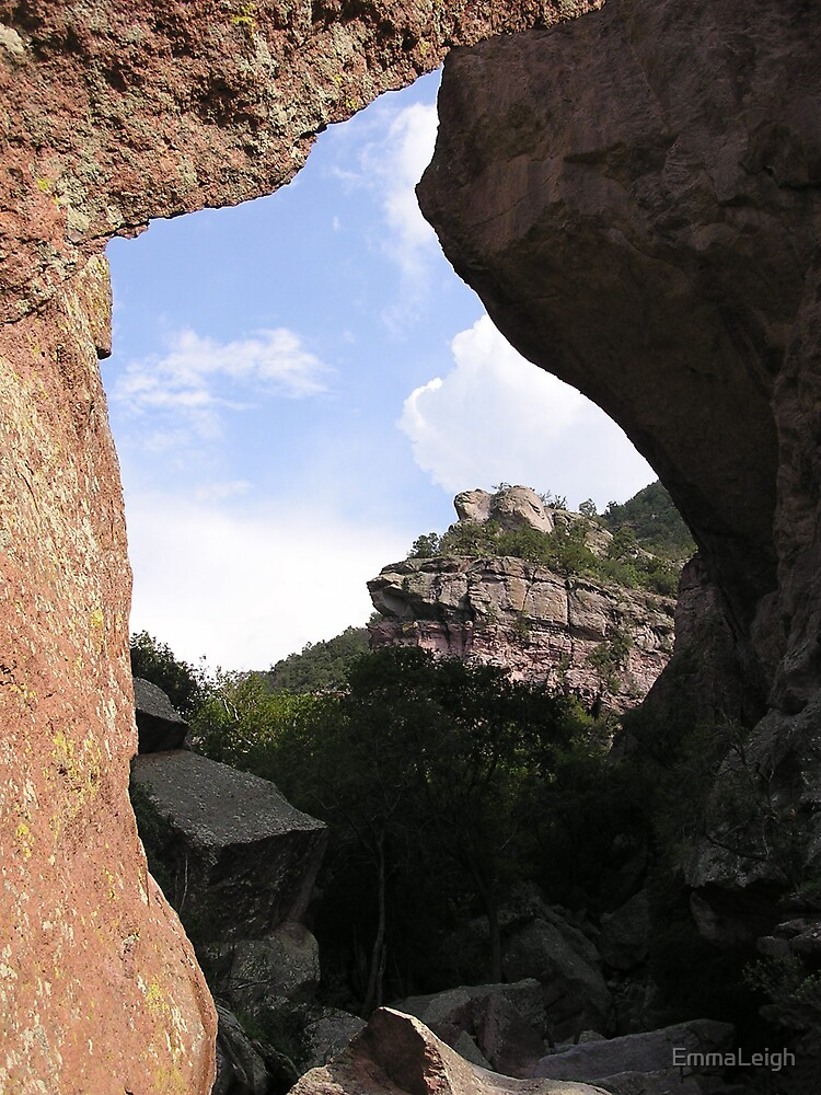 View Through Rock by EmmaLeigh