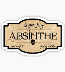 Absinthe Apothecary Label Sticker