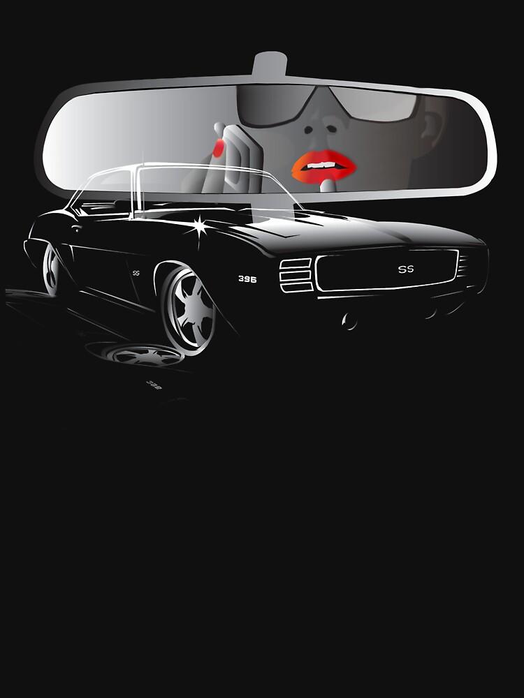 Dangerous Girl Camaro SS by Cliff