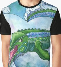 Mervyn the Marvelous Mosasaurus Graphic T-Shirt