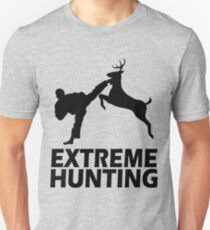 Extreme Hunting Funny Cute T Shirt For Hunt Hunter Season Camo Camouflage Unisex T-Shirt