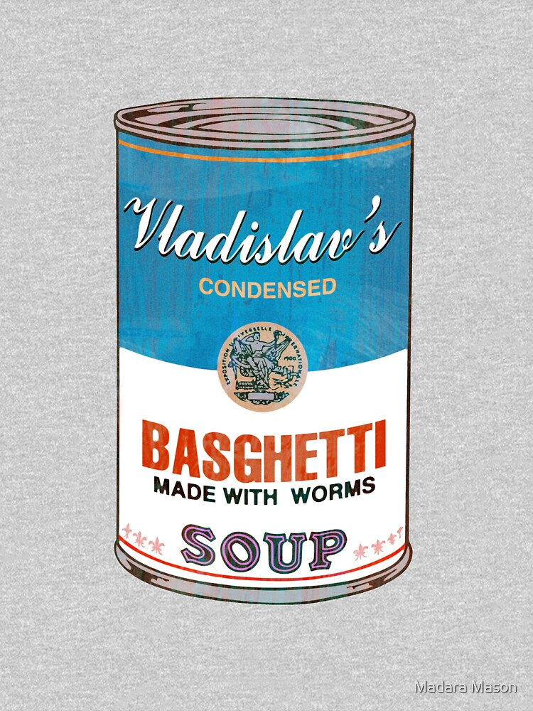 TShirtGifter presents: Vladislav's Basghetti, What We Do in the Shadows | Women's Fitted V-Neck T-Shirt