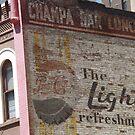 Vintage Advertising Sign, Denver, Colorado by lenspiro