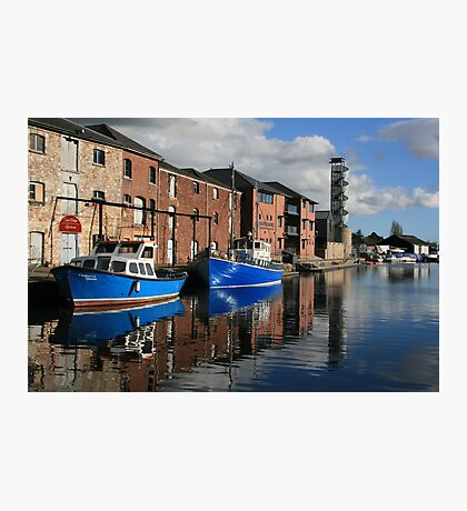 Exeter Canal Photographic Print