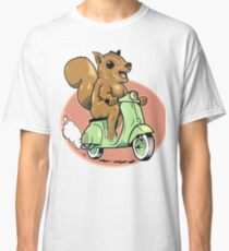 Scooter Squirrel Classic T-Shirt