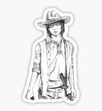 Walking Dead Carl Grimes Sticker