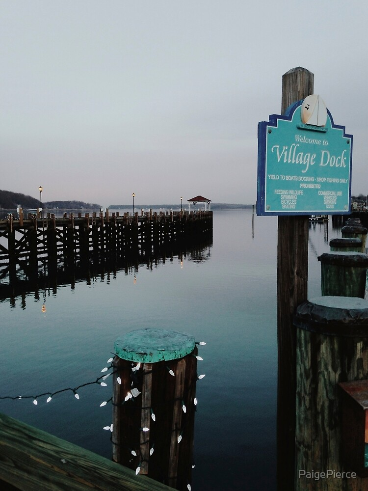 Northport Village Dock by PaigePierce