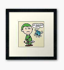 The Legend of Peanuts Framed Print