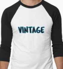Vintage Men's Baseball ¾ T-Shirt