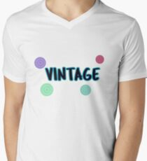 Vintage Men's V-Neck T-Shirt