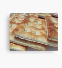 Biscuits Canvas Print