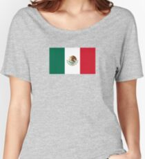 Mexican Flag Women's Relaxed Fit T-Shirt