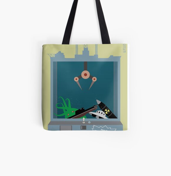 The Glomar Explorer All Over Print Tote Bag