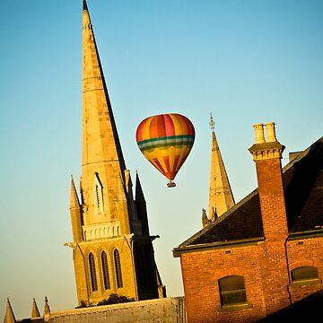 Ballooning over Bendigo by bendyclickr