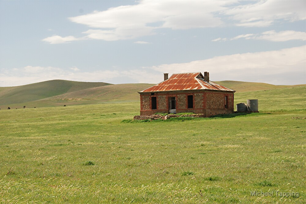Old Homestead - North of Burra - South Australia  by Michael Tapping
