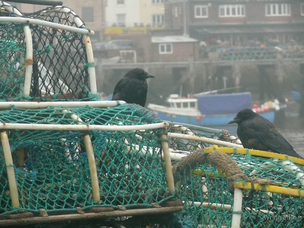 Lobster Pots by Wrigglefish