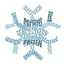 Snowflake Lettering by Neil K