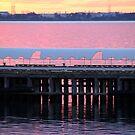 Pink sea by Robyn Lakeman
