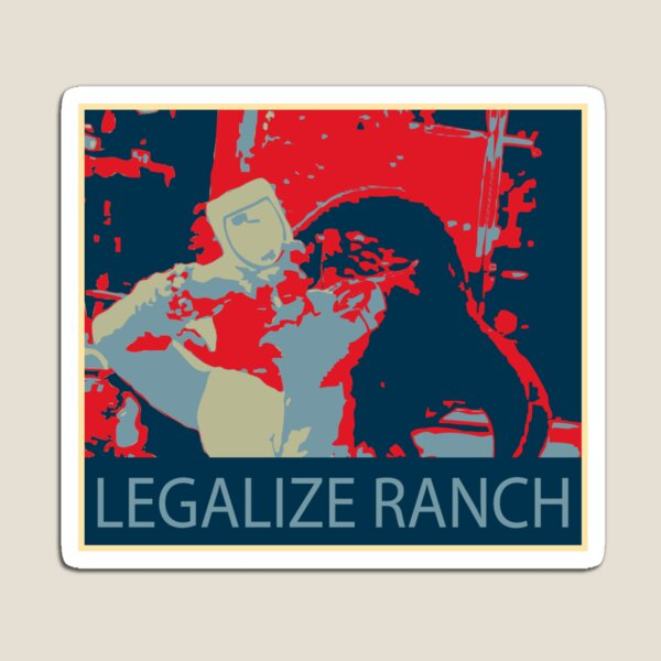 Eric Andre Legalize Ranch Magnet