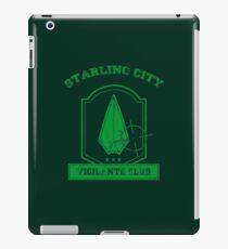 Starling City Vigilante Club 2 iPad Case/Skin