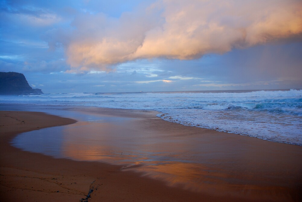 Beach Sunset by Chris  O'Mara