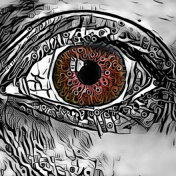 """Mysterious Mermaid Stare."" (Russet) by PandemoniumPrya"