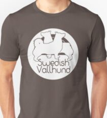 Swedish Vallhund-white T-Shirt