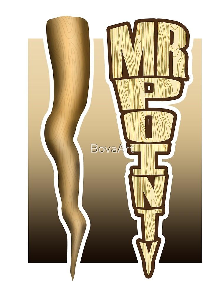Mr. Pointy - Buffy by BovaArt