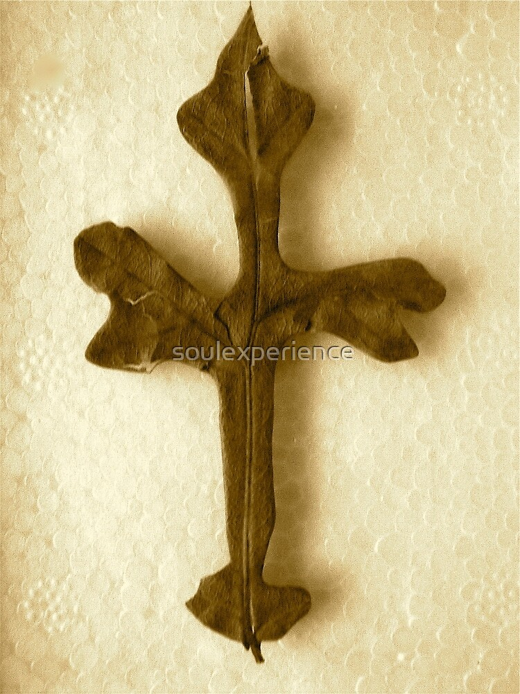 Miracle Leaf cross by soulexperience