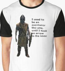 Whiterun Guard Quote Graphic T-Shirt