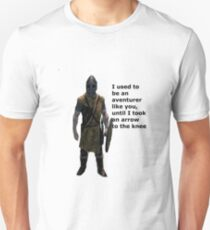 Whiterun Guard Quote Unisex T-Shirt