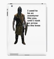 Whiterun Guard Quote iPad Case/Skin