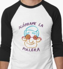Agárrame la pollera Baseball ¾ Sleeve T-Shirt