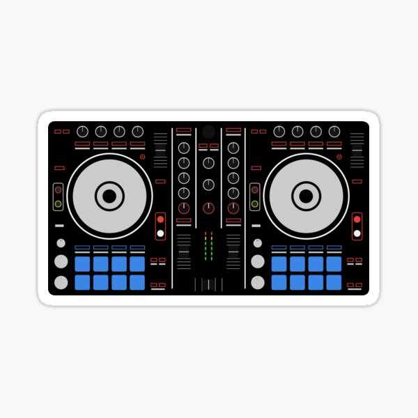 DDJ SR Sticker