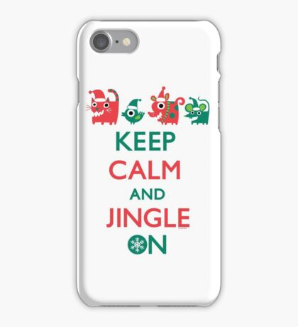 Keep Calm and Jingle On iPhone Case/Skin