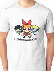 Powerpuff Girls // Smash the Patriarchy Unisex T-Shirt