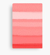 Vertical - hotpink Canvas Print