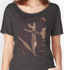 Writers guild abstract Women's Relaxed Fit T-Shirt
