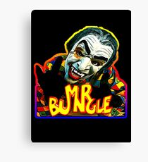 VAMPIRE MASK- super bright Canvas Print