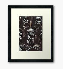 Sound of creative photos Framed Print