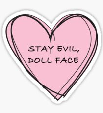 Doll face Sticker