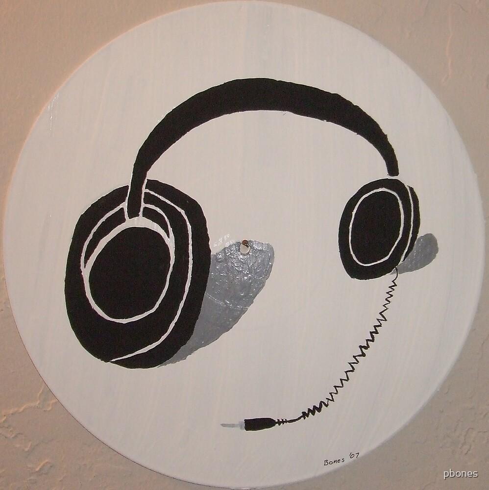 Headphones by pbones