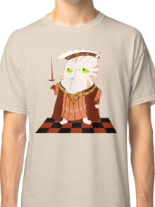 King Cat Henry the Eighth Classic T-Shirt