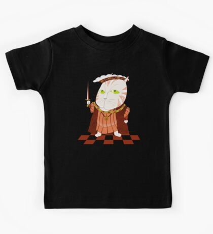 King Cat Henry the Eighth Kids Clothes