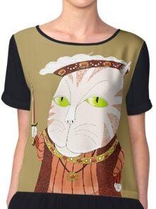 King Cat Henry the Eighth Women's Chiffon Top