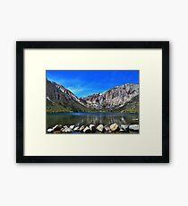 Eastern Sierra Scenic Lake Framed Print
