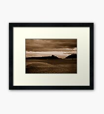 Just before dark......... Framed Print