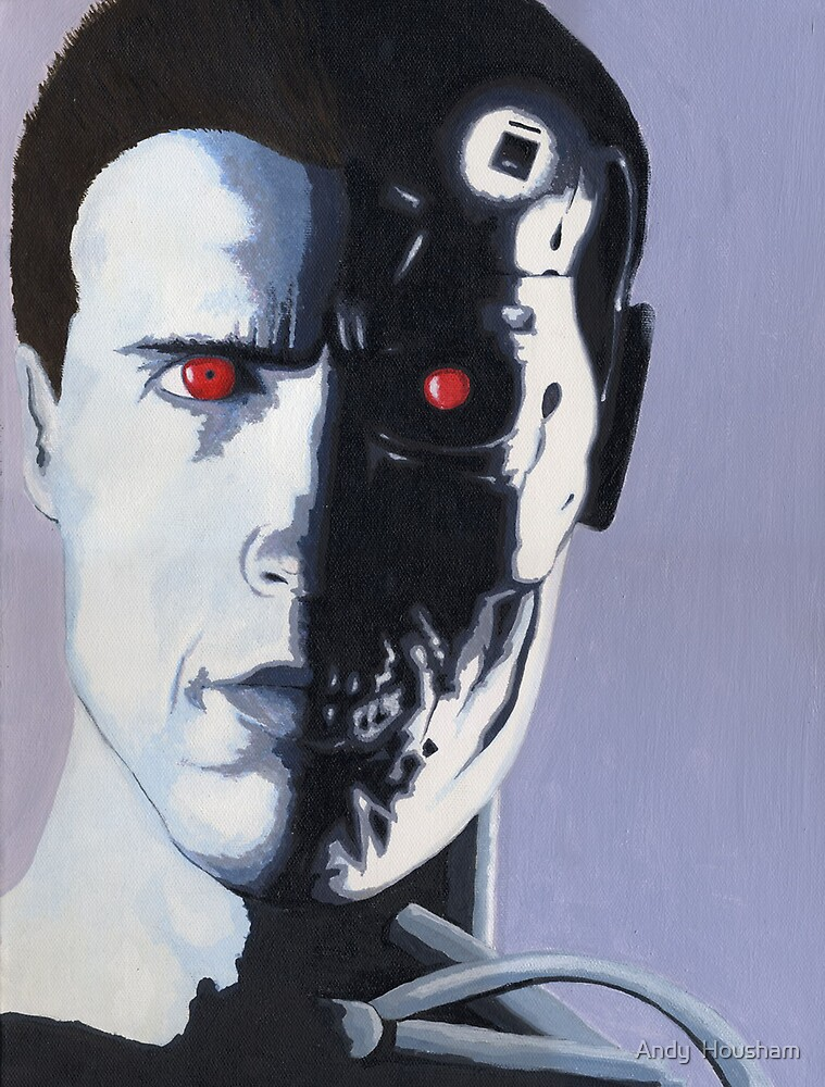 Terminator T2 by Andy  Housham